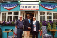 tshibangu mukumbay trump arm pub london