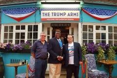 tshibangu mukumbay trump arm pub london
