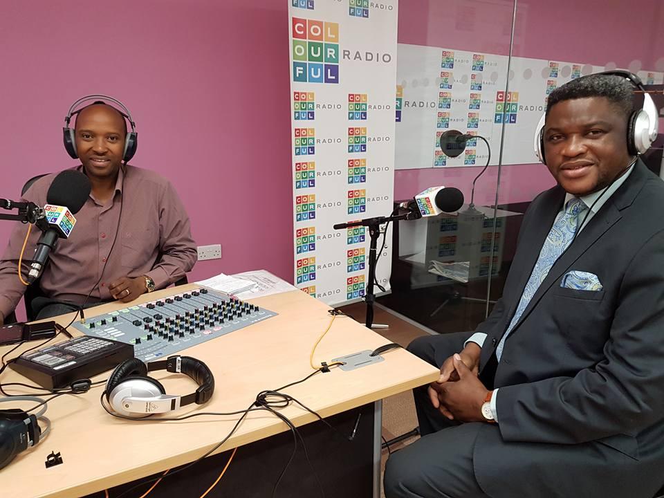 Colourful radio Julius Mbaluto 4-11-18 1