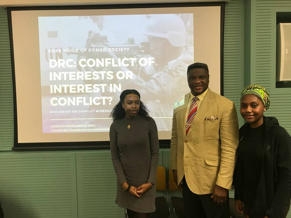 Congolese students of Voice of Congo Society 4-6-2018