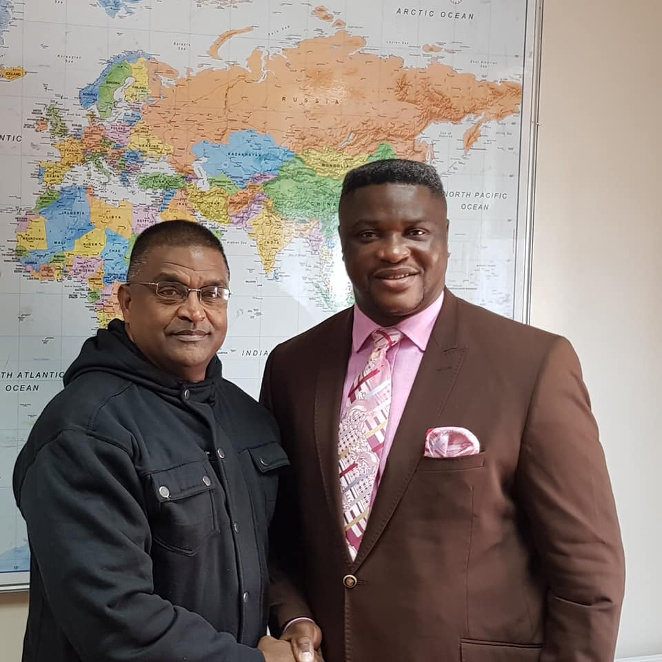 Dr Colonel Mervyn Govender Tshibangu Mukumbay